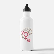 Women Vote Obama Water Bottle