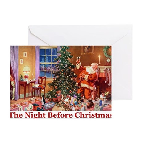 The Night Before Christmas Greeting Cards (Pk of 2