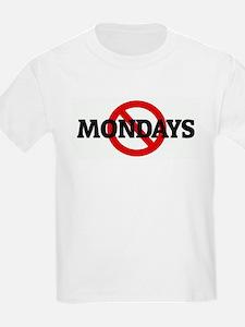 Anti MONDAYS Kids T-Shirt