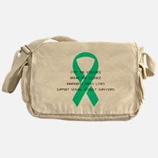 Stop the violence Messenger Bag