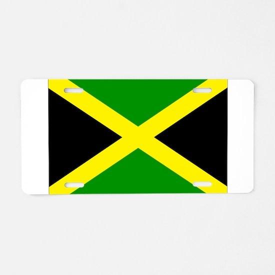 Jamaica Aluminum License Plate