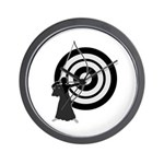 Kyudo man Wall Clock
