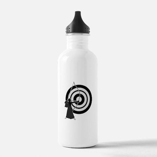 Kyudo man Water Bottle
