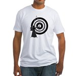 Kyudo man Fitted T-Shirt