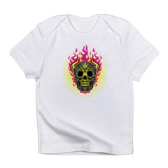 skull Dull Flames Infant T-Shirt