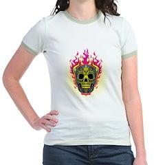 skull Dull Flames T