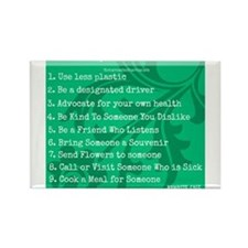 Pay It Forward 3 Rectangle Magnet