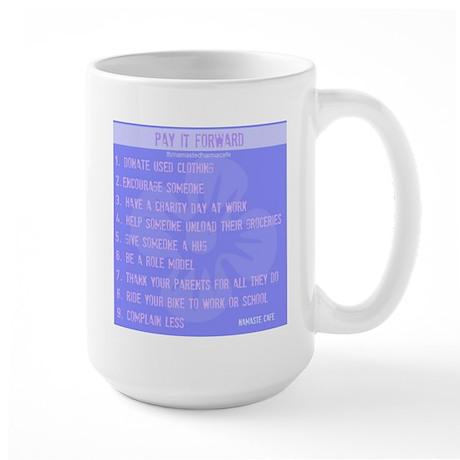 Pay it Forward Large Mug