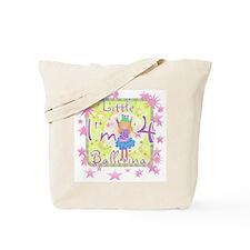 Little Ballerina 4th Birthday Tote Bag