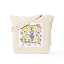 Little Ballerina 6th Birthday Tote Bag