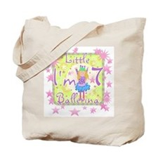Little Ballerina 7th Birthday Tote Bag