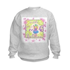 Little Ballerina 6th Birthday Sweatshirt