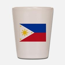 Philippine flag Shot Glass