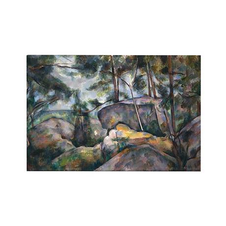 Paul Cezanne Rectangle Magnet