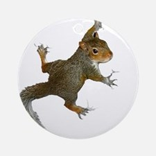 """""""Hang On Baby Rowdy"""" Ornament (Round)"""