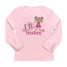 Ethnic Lil Sister Long Sleeve Infant T-Shirt