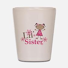 Ethnic Lil Sister Shot Glass