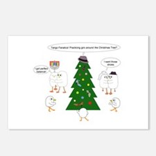 Christmas for Tango Fanatics Postcards (Package of