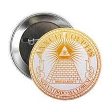 "Eye of Providence 3 2.25"" Button (10 pack)"