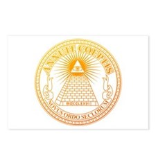Eye of Providence 3 Postcards (Package of 8)