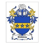 Niddrie Coat of Arms Small Poster