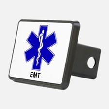 Blue Star of Life - EMT.png Hitch Cover