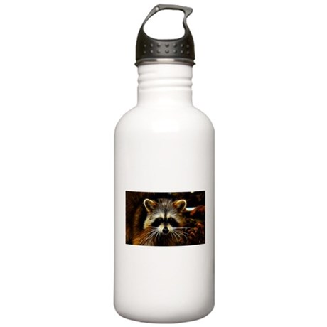 Electric Raccoon Stainless Water Bottle 1.0L