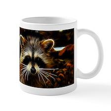 Electric Raccoon Small Mugs