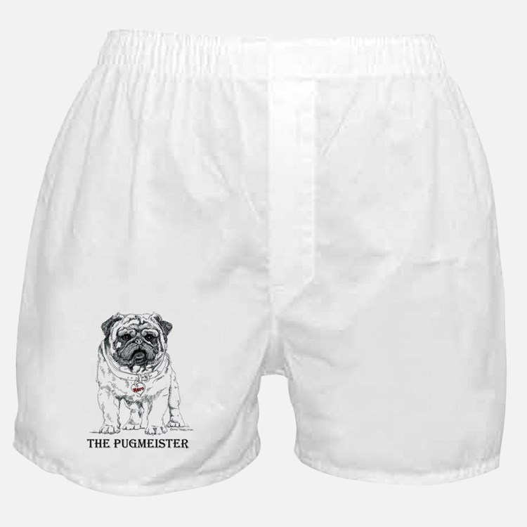 The Pugmeister Pug Boxer Shorts