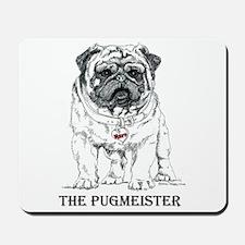 The Pugmeister Pug Mousepad