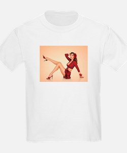 vintage pin up girl T-Shirt