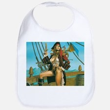 pin-up pirate Bib