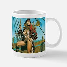 pin-up pirate Mug