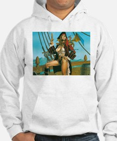 pin-up pirate Hoodie