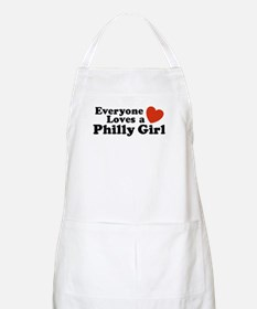 Everyone Loves a Philly Girl BBQ Apron