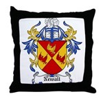 Newall Coat of Arms Throw Pillow