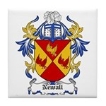 Newall Coat of Arms Tile Coaster