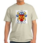 Newall Coat of Arms Ash Grey T-Shirt