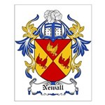 Newall Coat of Arms Small Poster