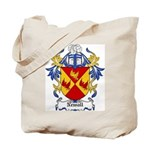 Newall Coat of Arms Tote Bag