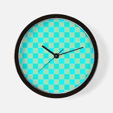 Regular Check Wall Clock