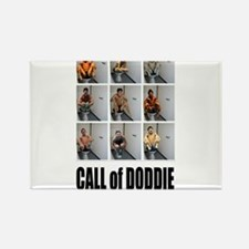 call of doodie Rectangle Magnet