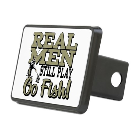Real men go fish hitch cover by thefishingbowl for Fish hitch cover