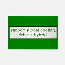 Global Cooling Rectangle Magnet