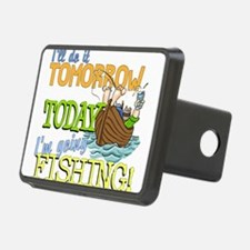 Today I'm Going Fishing Hitch Cover