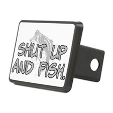 Shut up and fish. Hitch Cover