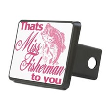 Miss Fisherman Hitch Cover