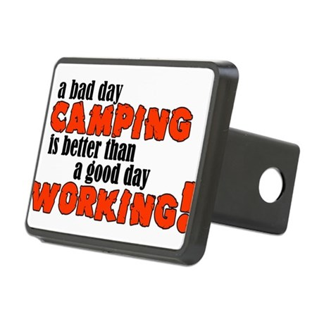 Bad Day Camping Rectangular Hitch Cover