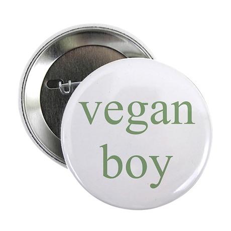"vegan boy 2.25"" Button (10 pack)"
