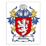Moubray Coat of Arms Small Poster